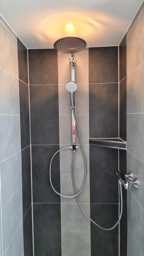 Dusche Ferienwohung Apartment UTKIEK Aurich Ostfriesland