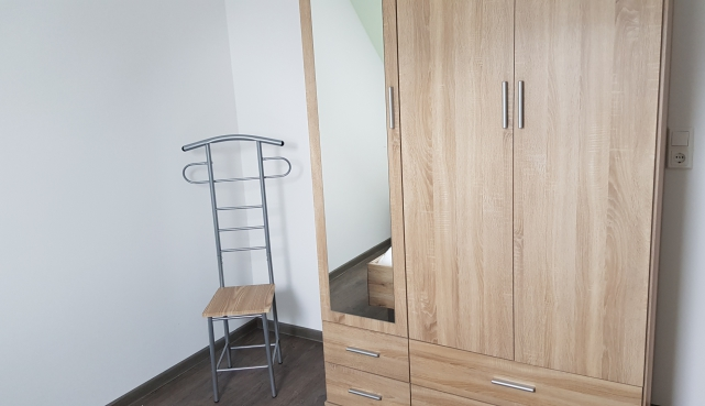Schlafzimmer Ferienwohung Apartment UTKIEK Aurich Ostfriesland